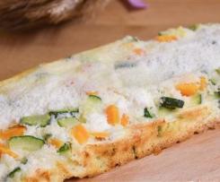 Plumcake albumi e verdure - Contest Lunchbox