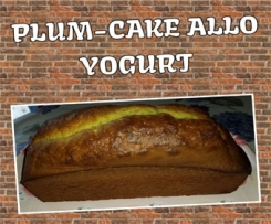 PLUM-CAKE ALLO YOGURT