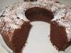 Torta light bio al cacao e albumi