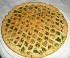 Crostata salata di spinaci