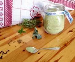 Sale verde aromatizzato alle erbe