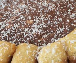 """Semifreddo al cocco e cioccolato """"contest torte senza cottura"""""""