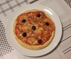 Pizza alla greca senza glutine
