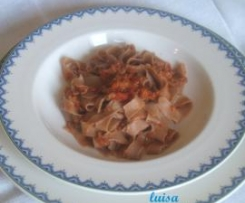 Tagliatelle matte (con farina di castagne)