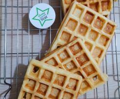 Waffle aromatizzati alla Vannilina senza burro