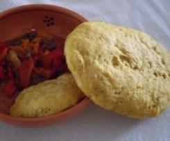 pane con paprica e semi di girasole