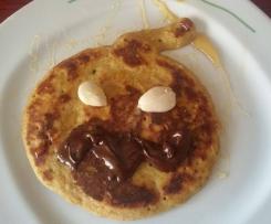 Pancakes di zucca senza glutine