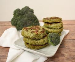 Burger di pollo e broccoli