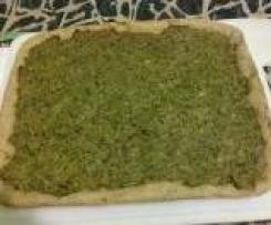 focaccia con broccoletti