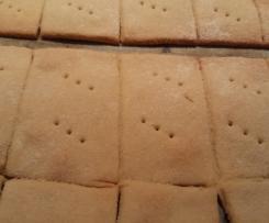Crackers di farina di fagioli canellini (glutenfree)