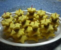 Alberelli di stelline di parmigiano