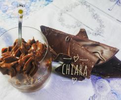 Crema al cioccolato fondente senza glutine senza lattosio