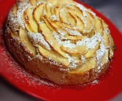 Torta mele e nocciole