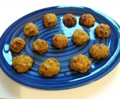 Polpette di tonno,zucchine,carote light senza uova,senza formaggio