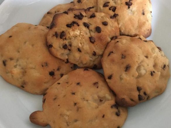 Biscotti zenzero,pera e cioccolato