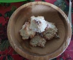 Trottoline velocissime al cocco senza lattosio senza glutine solo con albume