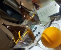 Pere affogate con scorzette di arance di Buggiano