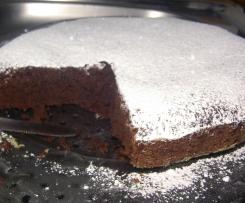 Torta al cioccolato e panna (Senza uova!)