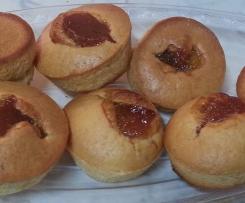 Muffin agrumati senza uova e senza latte