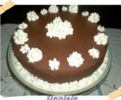 Torta cioccolato e panna - Buon compleanno ricettario!
