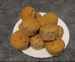 Muffin di Focaccia con Pancetta Olive e Pecorino - CONTEST-PICNIC