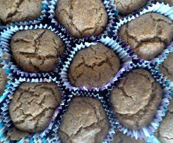 Muffin alle carote senza glutine e lattosio