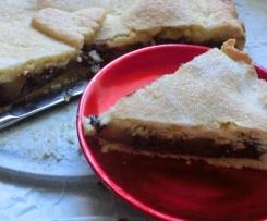 Crostata Ripiena alle Pere e Ganache al Cioccolato