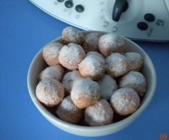 Biscotti rosa al cocco