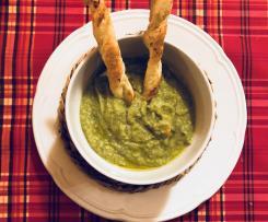 Torcetti di sfoglia ripieni di patate e parmigiano - contest accompagnamento zuppe