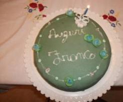 Torta compleanno di Franco