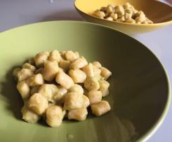 Crema di zucchine e latte (sugo per gnocchi o pasta)
