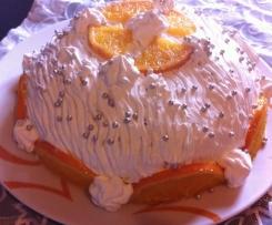 Zuccotto delle Feste all'arancia (Natale e non solo)