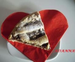 PASTA FROLLA slurposa con nutella e mandorle (veloce e taaanto morbida ).