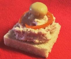 Crostini prosciutto cotto e formaggio