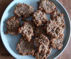 Biscotti ai semi (semi di sesamo, zucca e girasole)