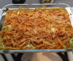 pasta risotta con pesto di zucchine