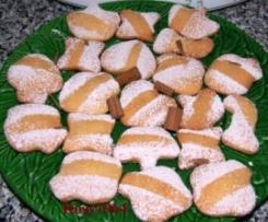 """Biscottini """"Fioretto"""" al profumo di cannella (Natale)"""