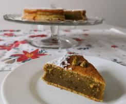 Torta Bimby alle nocciole e pistacchi senza farina