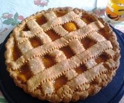 Crostata con Crema Bimby e Frutta