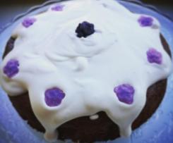 Torta con crema di marroni e cacao al profumo di violette-CONTEST FESTA DELLA MAMMA