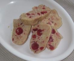 SALAME bianco con ciliegie