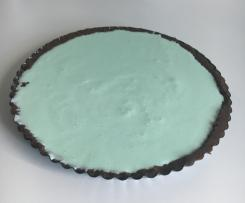 Crostata menta e cioccolato (simil cheesecake)