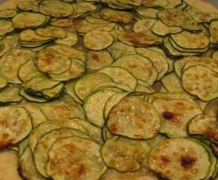 Finta pizza di zucchine (torta salata)