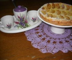 Crostata di mele e crema d' ananas