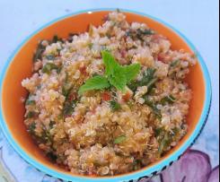 Tabulè di Quinoa pomodorini e rucola