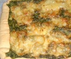 Torta con ricotta e spinaci