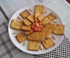 Crackers al gusto pizza (senza glutine)