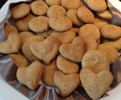 Biscotti semi di chia e avena senza uova senza burro