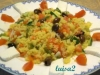 Cous cous di riso e mais alle verdure