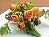Bouquet salato di boccioli finger food